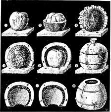 Гипсовые клеевые формы фото