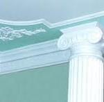 Изготовление колонн из гипса фото